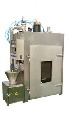 Laboratory small fumigation furnace
